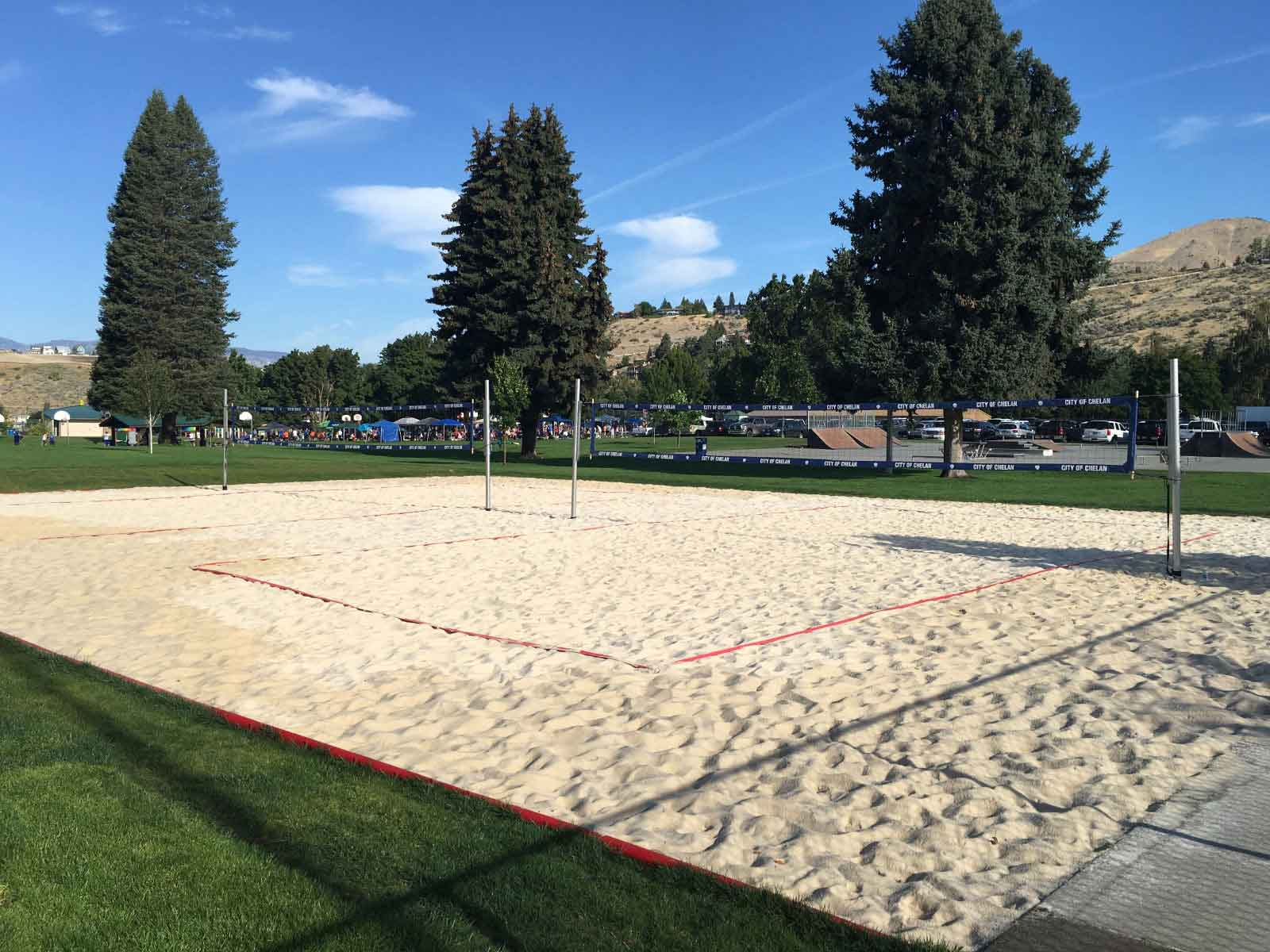 How to construct a volleyball court for How much does it cost to build a sport court