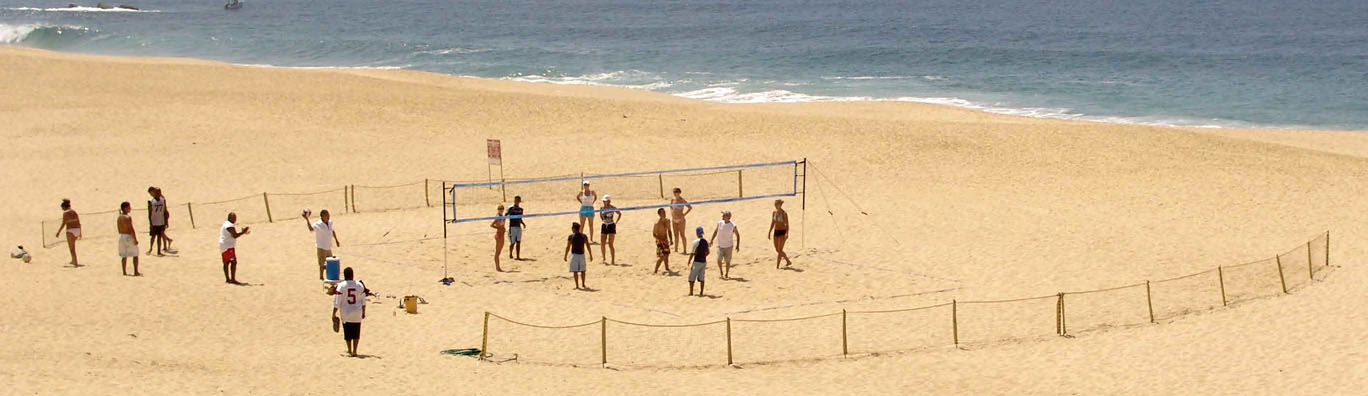 how to build a volleyball court